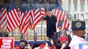 »Es gab eine Menge Liebe« – Trump verharmlost Attacke auf US-Kapitol