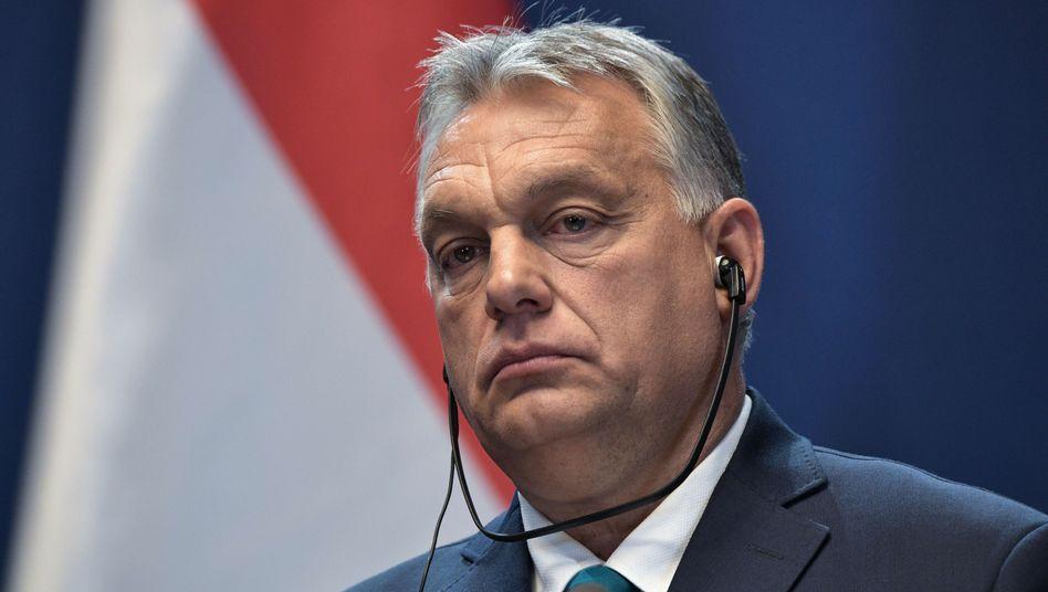 Viktor Orbán im Oktober: die nötigen Mehrheiten im Parlament