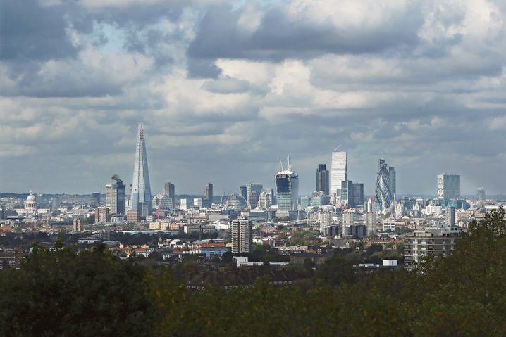 Londoner Skyline: Machtzentrum der Deutschen Bank