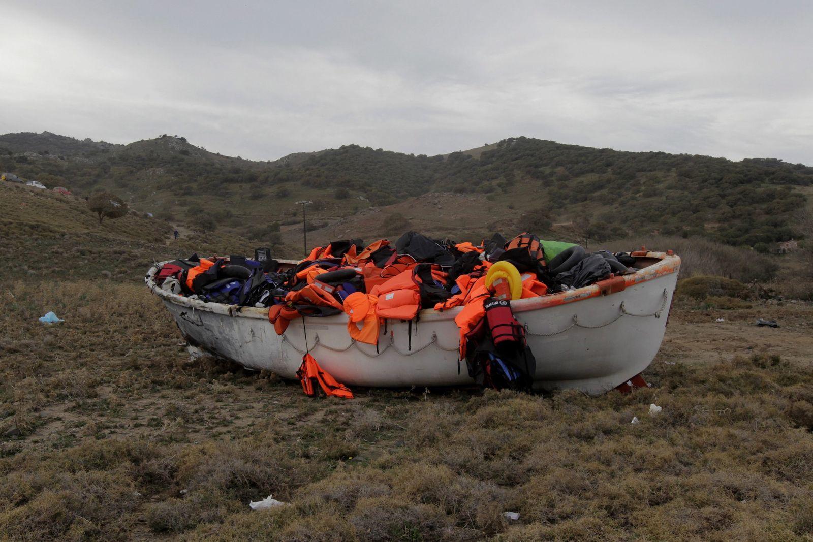Flüchtlinge Griechenland