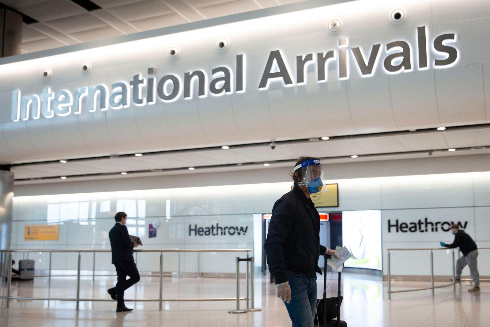 Reise nach England müssen bald nicht mehr in Quarantäne
