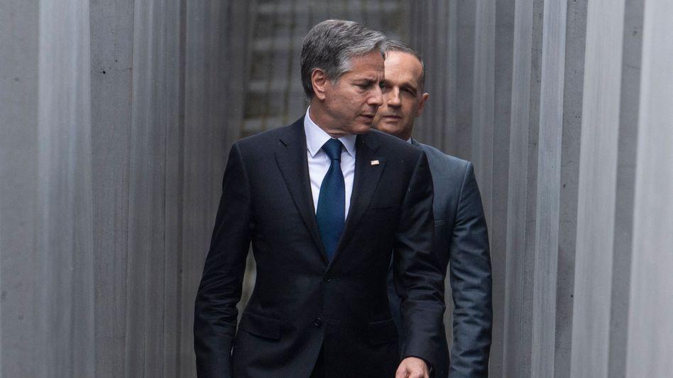 US-Außenminister Blinken, Bundesaußenminister Maas in Berlin: »Das Beste aus einer schlechten Lage machen, die uns vererbt wurde«