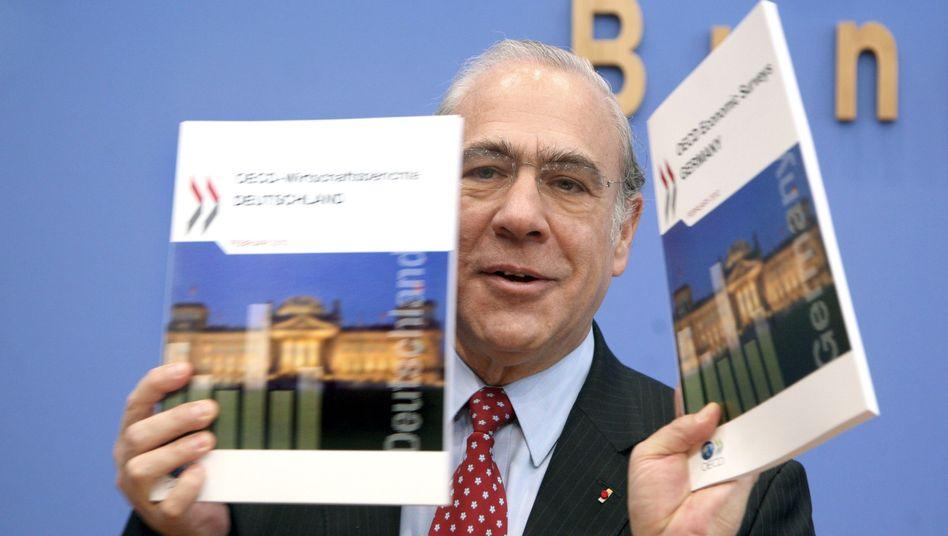 """OECD-Generalsekretär Gurria: """"Das Vertrauen der Bürger zerbricht"""""""