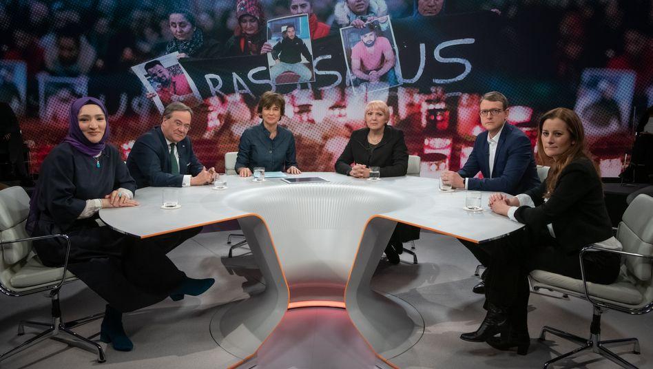 """""""Maybrit Illner""""-Talk zum Attentat in Hanau: Der Feind steht rechts"""