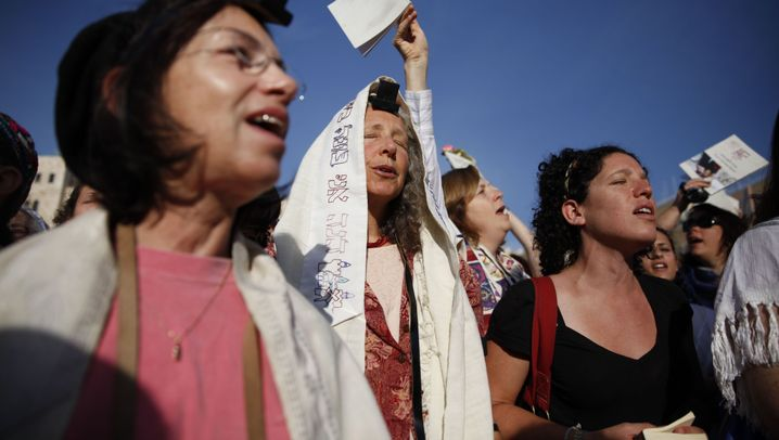 """""""Women of the Wall"""" beim Freitagsgebet: Krawalle an der Klagemauer"""