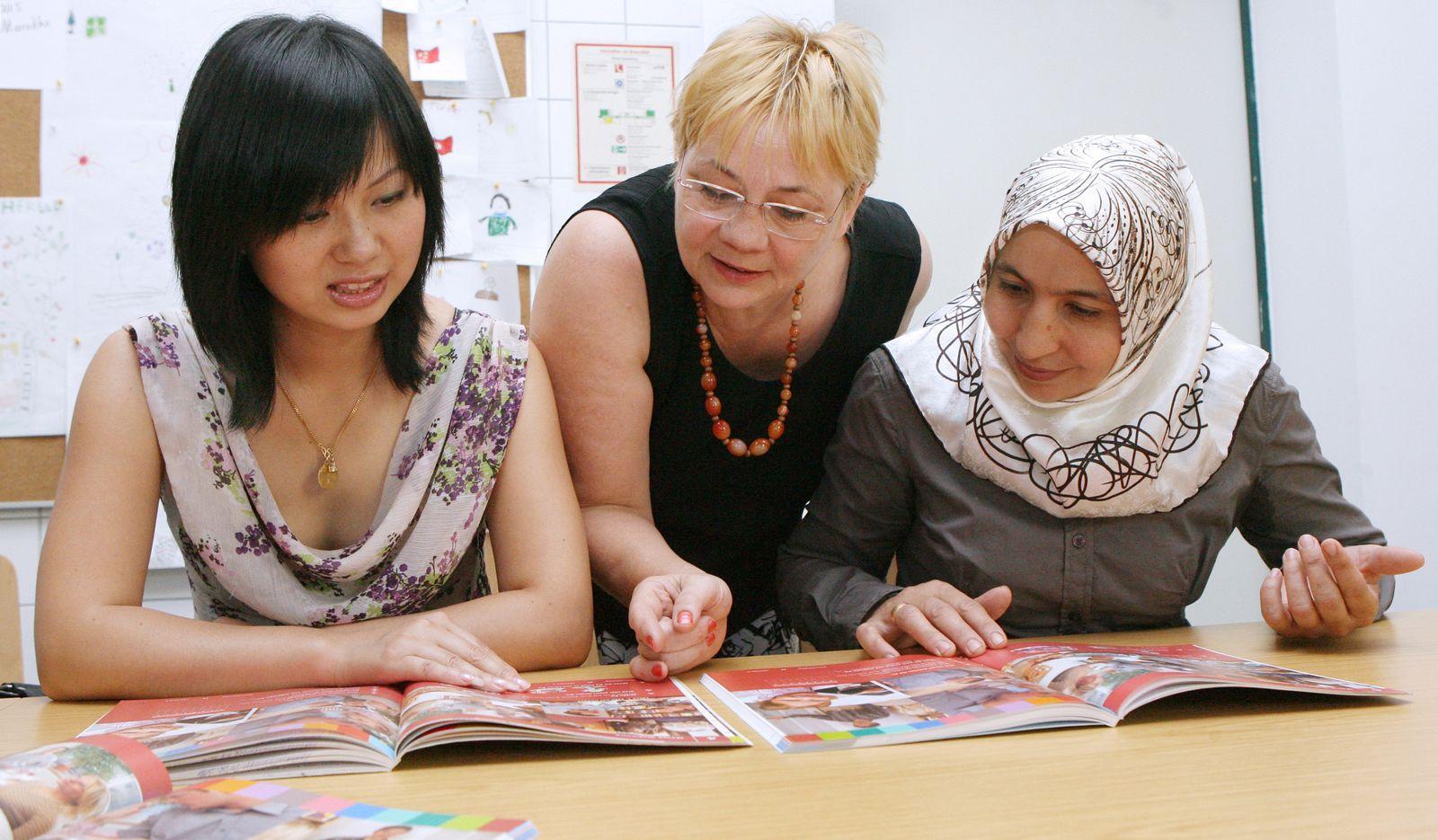 Sprachkurs an der Volkshochschule