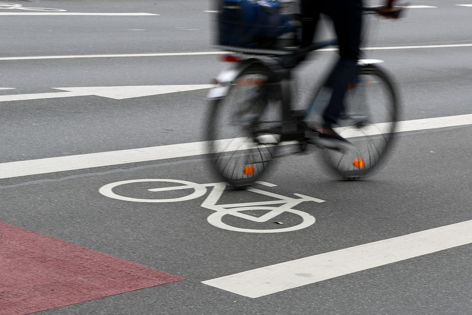 Fahrrad/ Weg/ Nürnberg