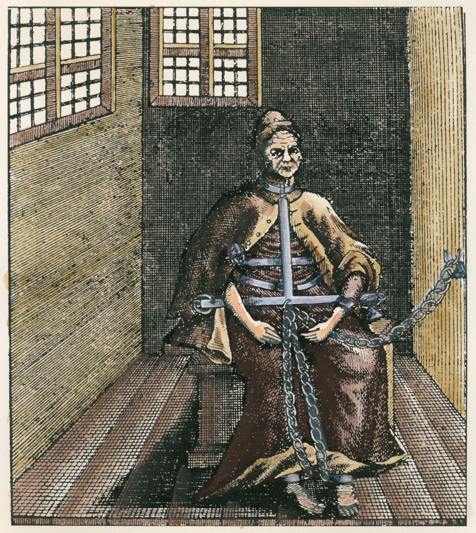 Hexe im Bamberger Hexenhaus