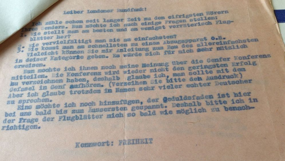 """Anonyme Briefe aus der DDR: """"Ich bin zwar noch ein Kind..."""""""