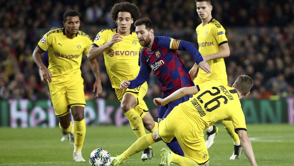 Messi gegen alle - das wird man gegen Inter nicht sehen