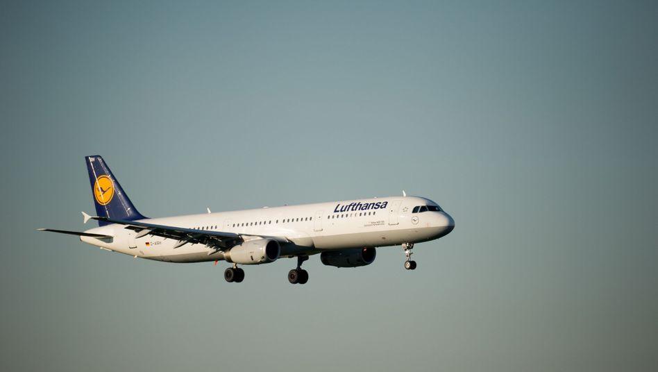 Lufthansa-Maschine (Symbolbild)
