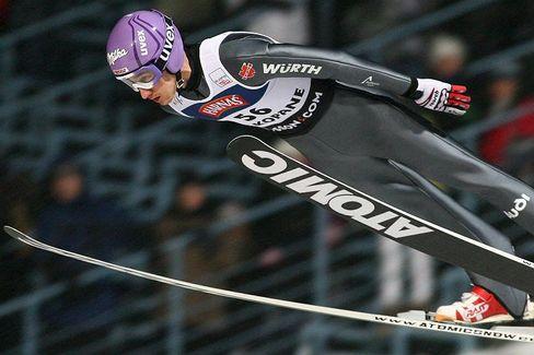 Skispringer Schmitt: Zum zweiten Mal auf dem Treppchen