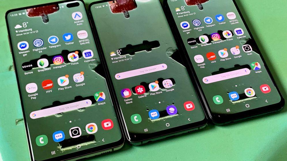 Galaxy S10 im Test: Das können die neuen Samsung-Smartphones