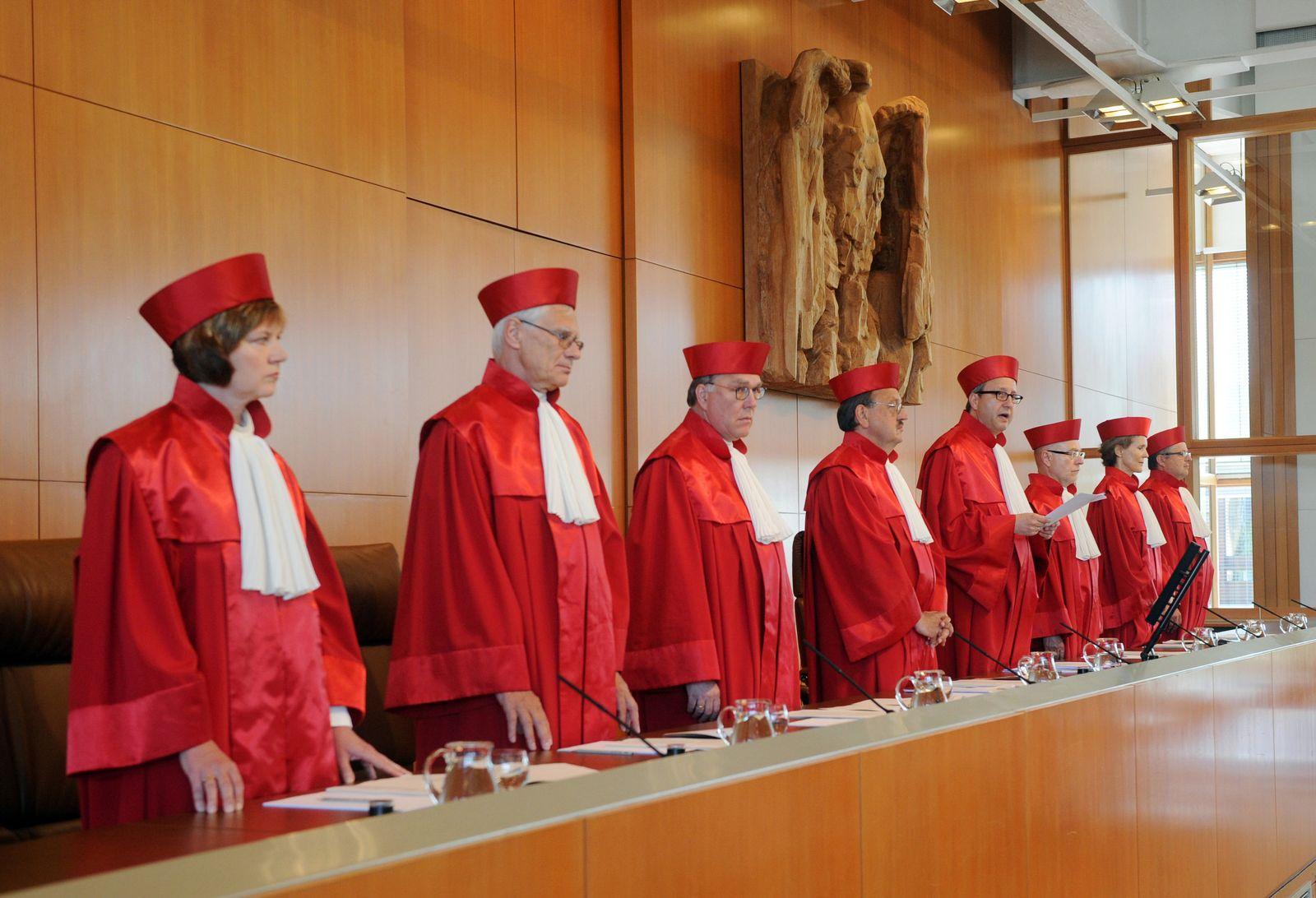 Bundesverfassungsgericht/ Sicherungsverwahrung