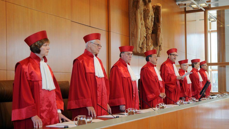 """Zweiter Senat des Bundesverfassungsgerichts: """"Die Bundesbank steht hinter uns"""""""