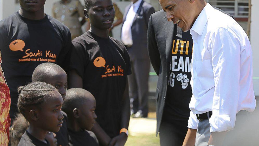 Ex-US-Präsident: Obama eröffnet Ausbildungszentrum in Kenia