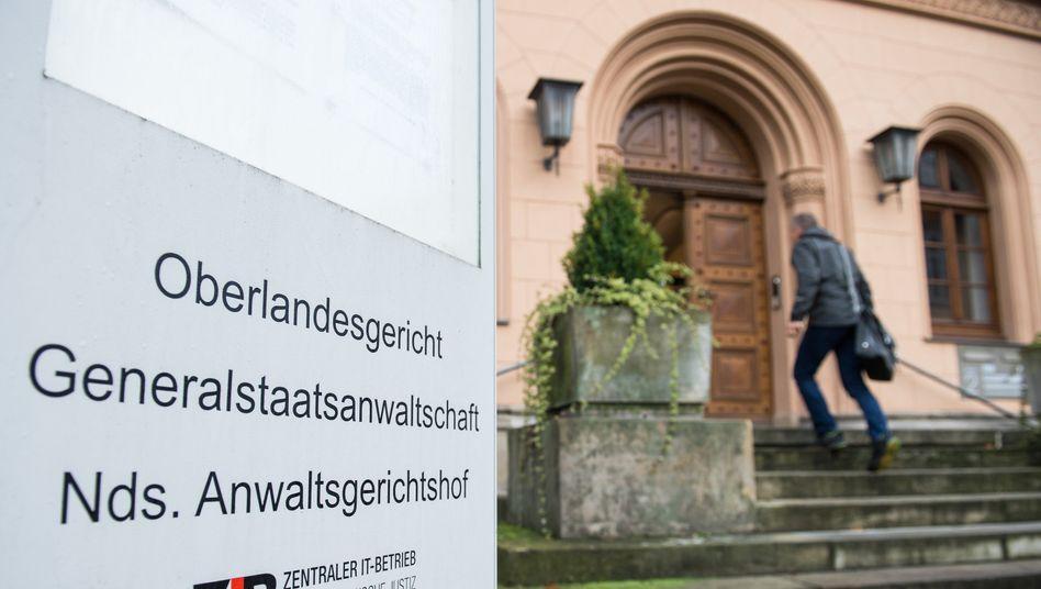 Eingang der Generalstaatsanwaltschaft Celle