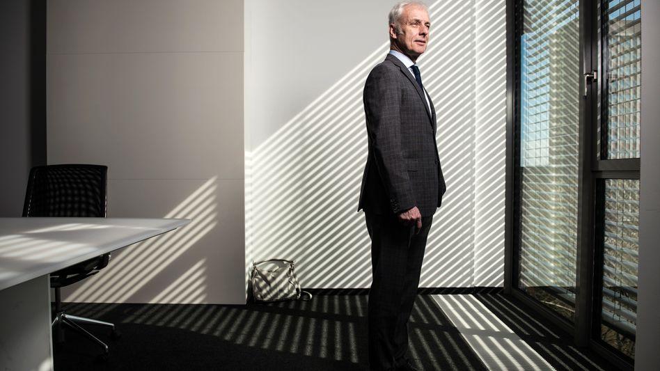 "VW-Chef Müller: ""Unsere Gehälter sind gerechtfertigt"""
