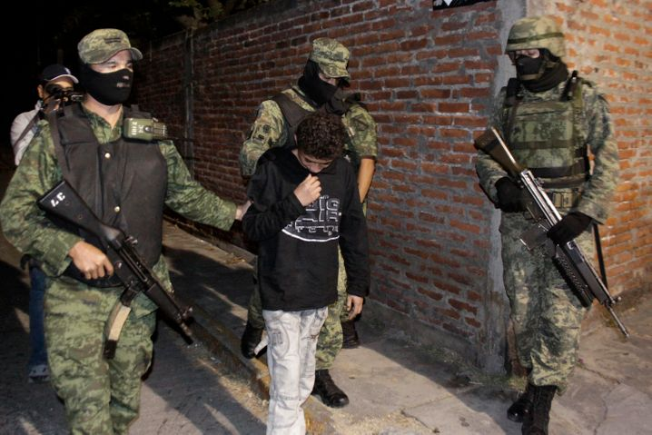 "The arrest of ""El Ponchis"" in 2010: A drug cartel in Mexico had recruited the 12-year-old as a contract killer."