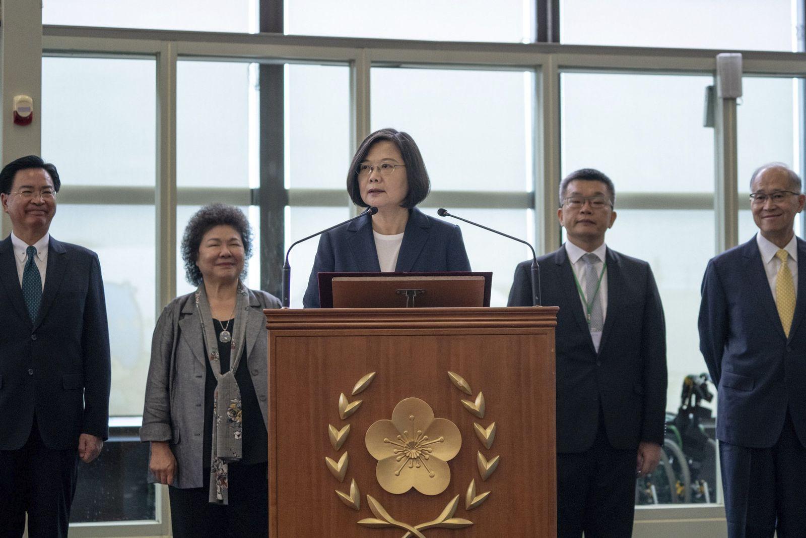 Tsai Ing-wen/ Taiwan