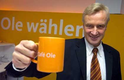 Bürgermeister von Beust: Die Hamburger CDU setzt auf Ole und orange