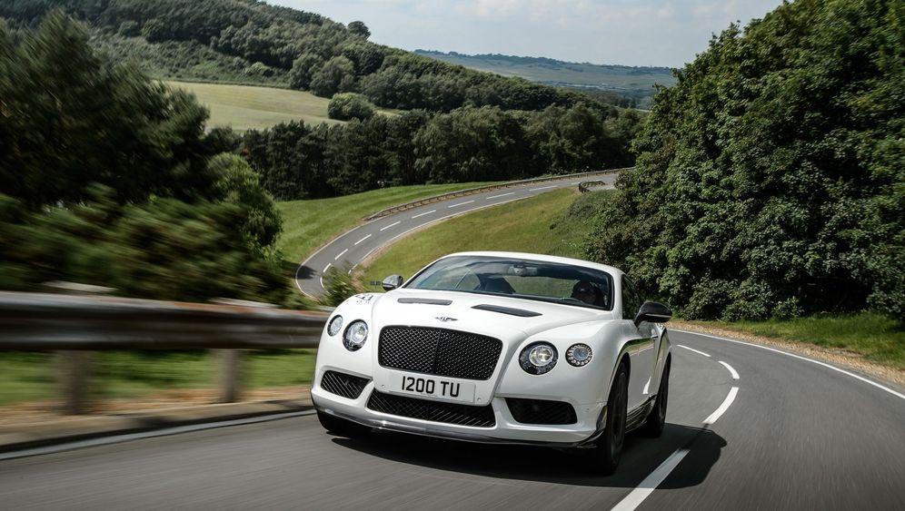 Autogramm Bentley Continental GT3-R: Furioser Fettwanst