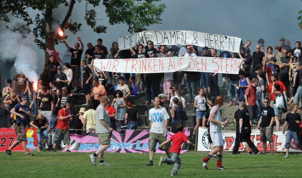 EINMALIGE VERWENDUNG Fußball-Klubs / Leipzig / Ruf