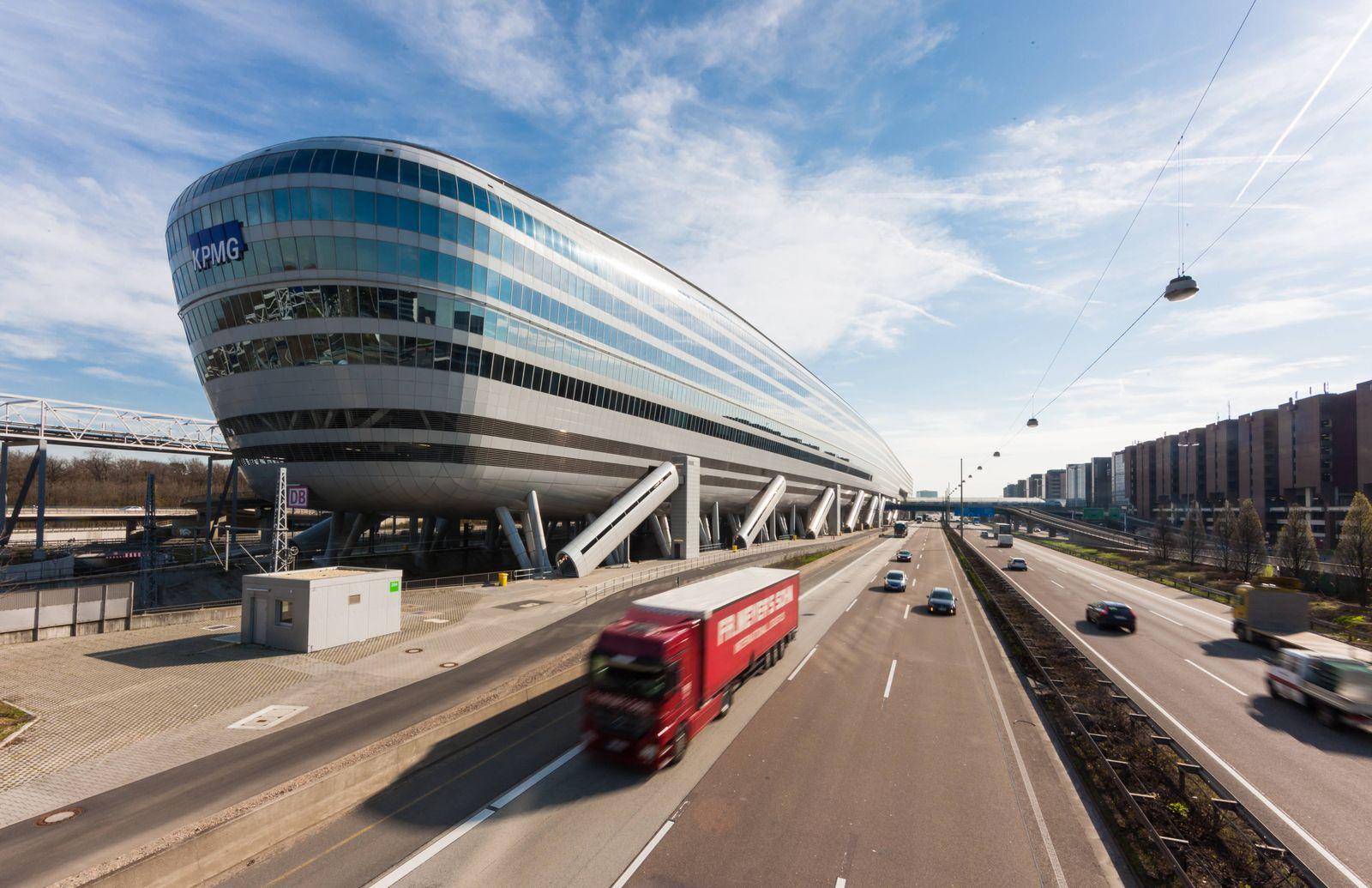 EINMALIGE VERWENDUNG ¿The Squaire¿/ Frankfurt Flughafen