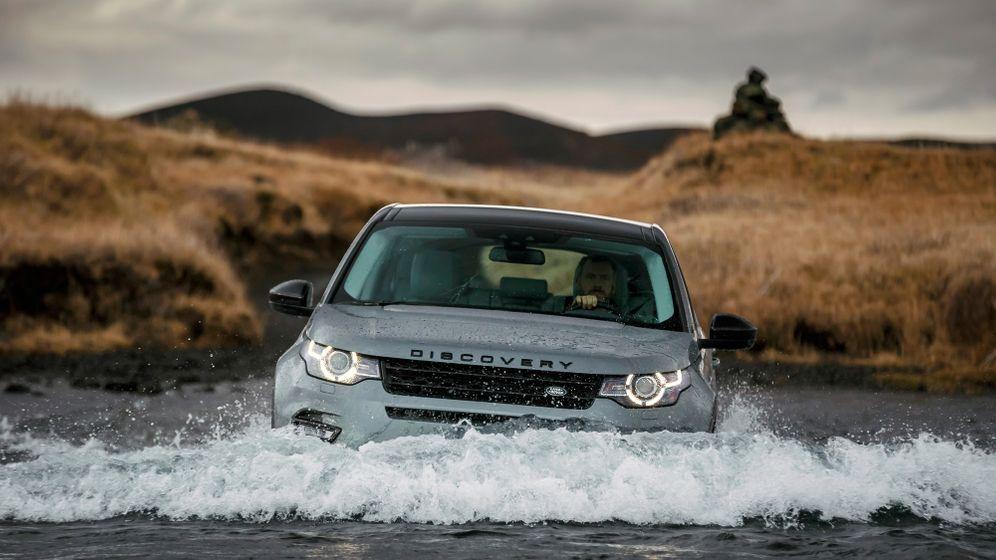 Autogramm Land Rover Discovery Sport: Hotspot im Schlammpott