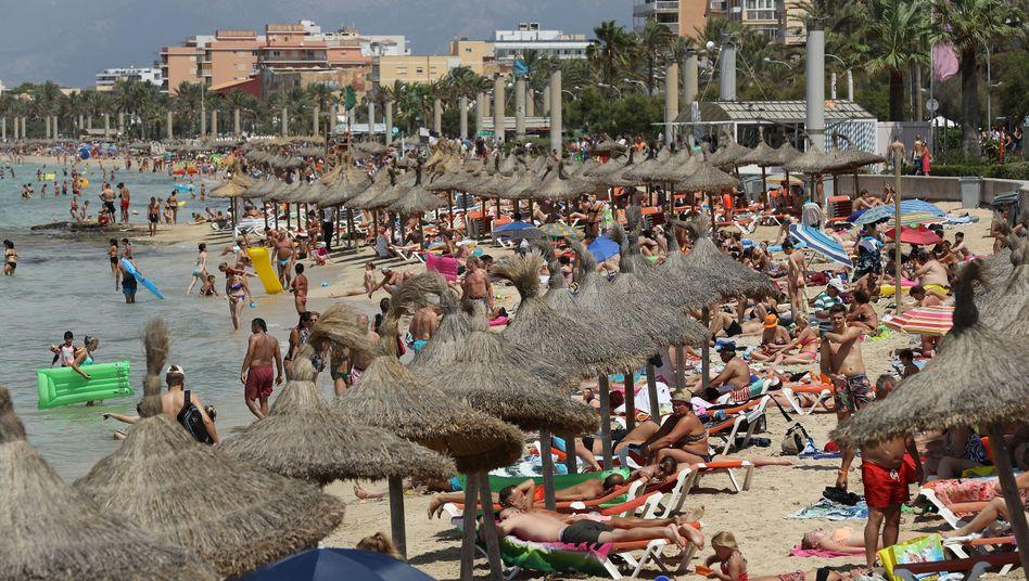 Strand von Palma de Mallorca