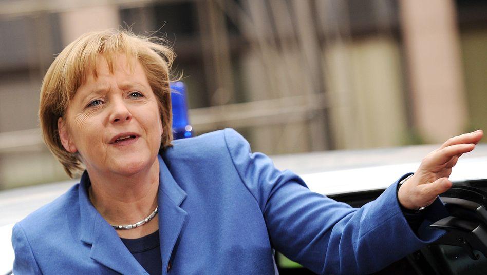 """Kanzlerin Merkel beim EU-Gipfel: """"Defizit an Erklärungskraft"""""""
