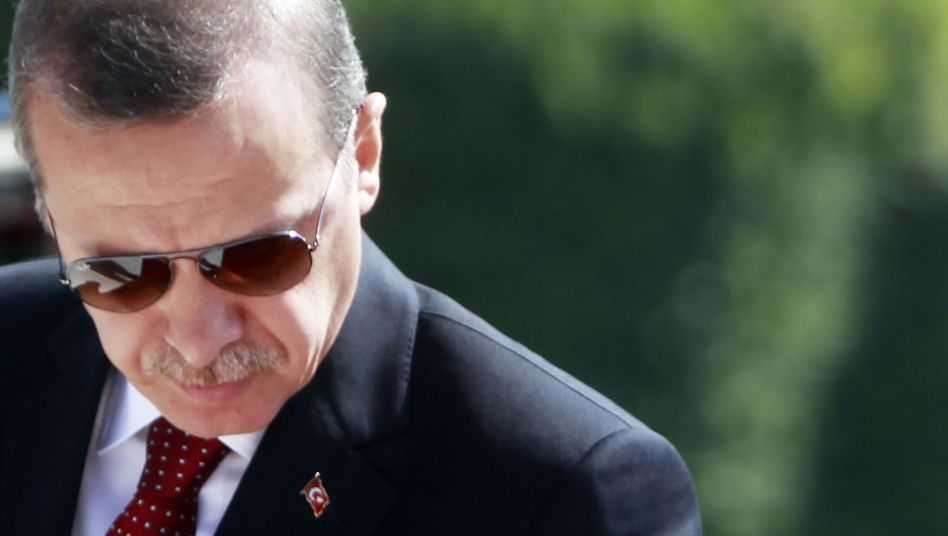 "Turkish Prime Minister Recep Tayyip Erdogan: ""We will not allow anyone to walk all over our honor."""