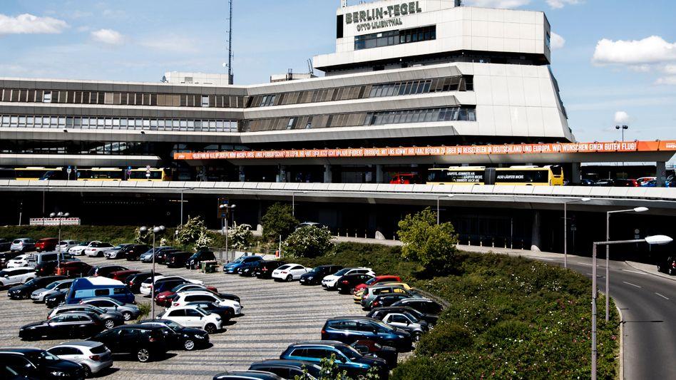 Flughafen Tegel: Zweieinhalb Prozent des normalen Verkehrs