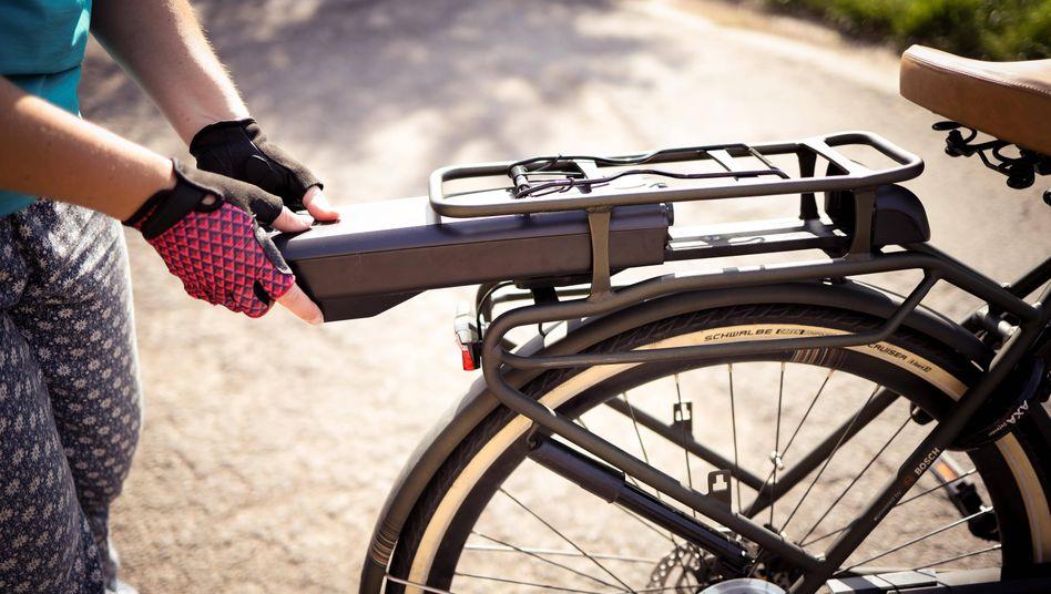 Akku an einem E-Bike: Mit Kalium unerwünschte Nebenreaktionen verhindern