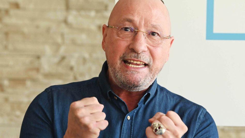 Uwe Hück stellt seine neue Partei vor: Berufspolitiker unerwünscht