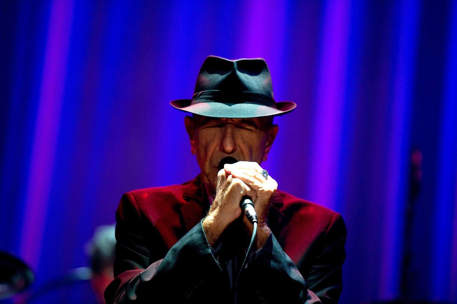 EINMALIGE VERWENDUNG Nachruf/ Leonard Cohen