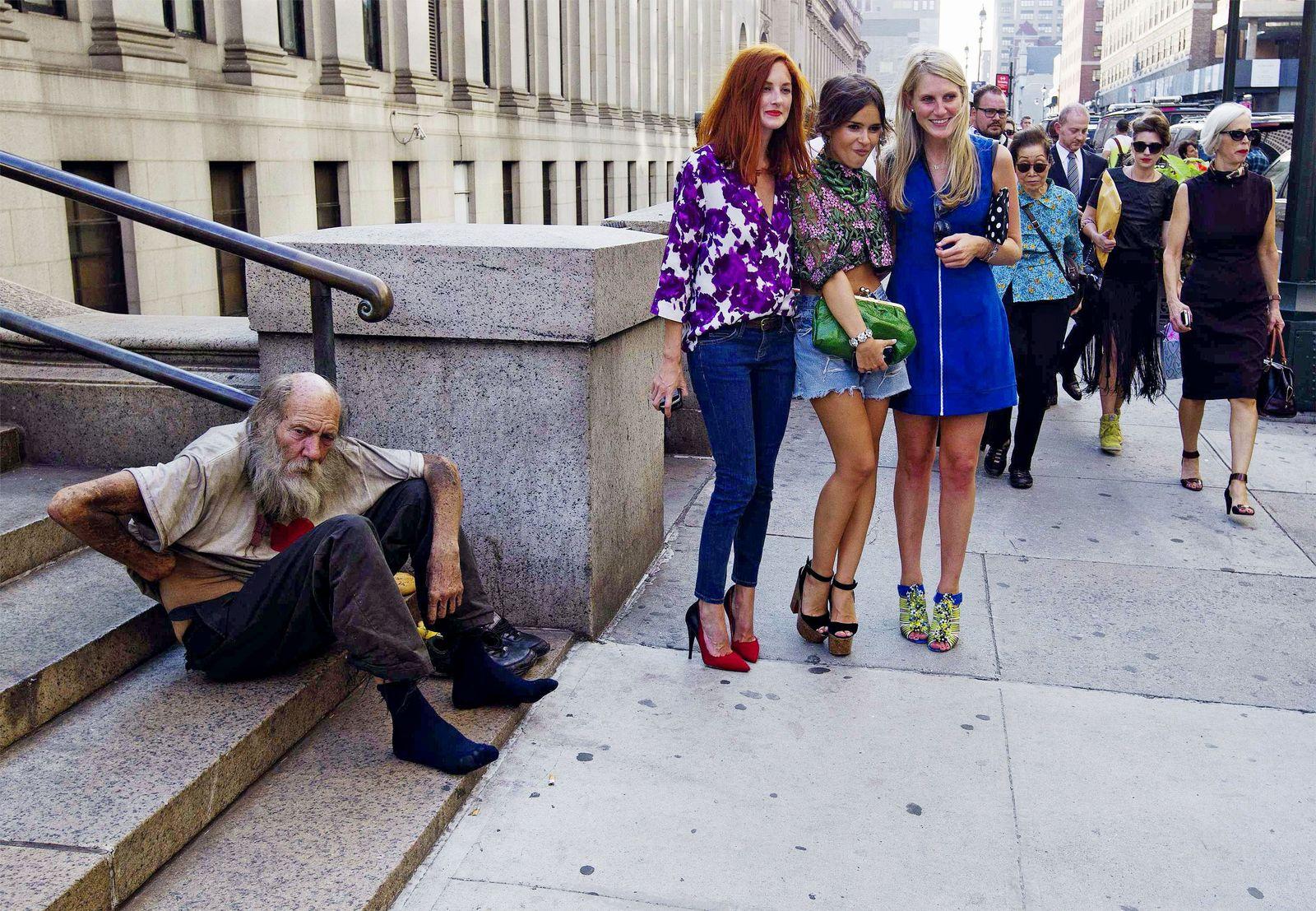 SPIEGEL 40/2012 pp83 SPIN Fashion New York Homeless Man