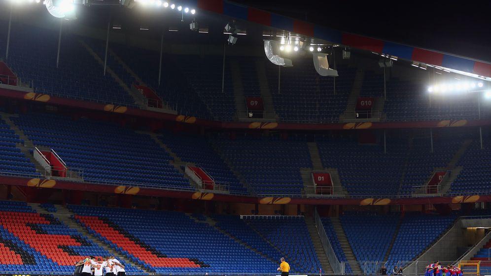 Viertelfinals der Europa League: Triumph vor leeren Rängen