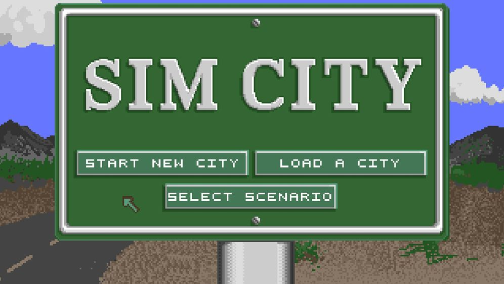 """Spieleklassiker: So sah """"Sim City"""" aus"""