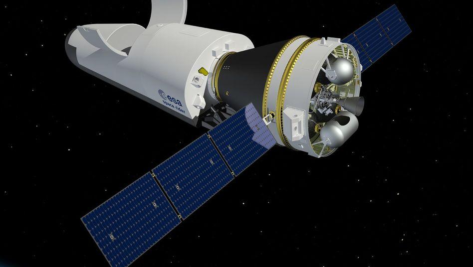 """Grafik des """"Space Riders"""" der Esa"""