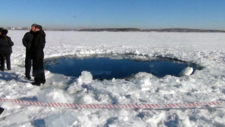 Meteorit über Russland: Eine Spur der Verwüstung