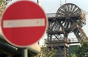 Kürzungen an aderer Stelle im Haushalt vermieden: Förderturm der Zeche Niederberg