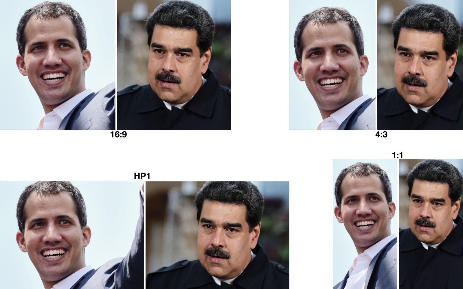 COMBO/ Guaido/ Maduro