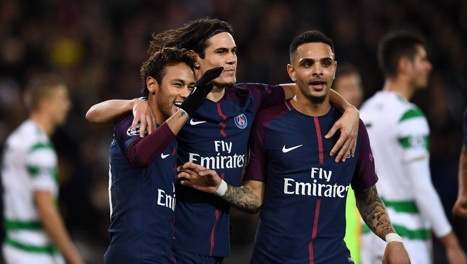 Die Torschützen vom Dienst von Paris Saint-Germain