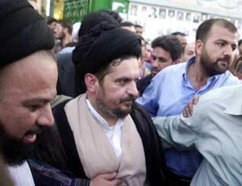 Chomeini-Enkel Hussein