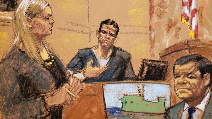 "Joaquín ""El Chapo"" Guzmán: Drogenboss vor Gericht"