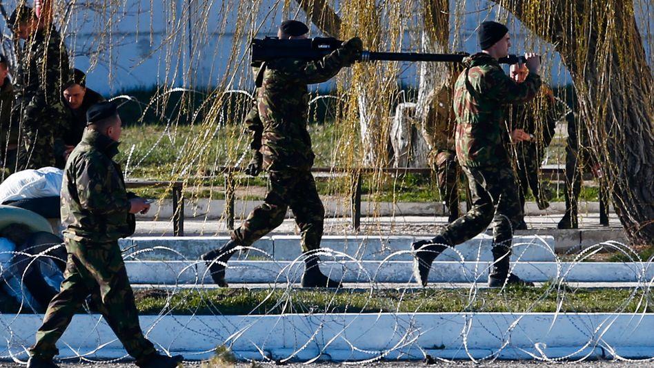 Marine Stützpunkt in Feodossija: Rückzug der ukrainischen Truppe ist nun beschlossen