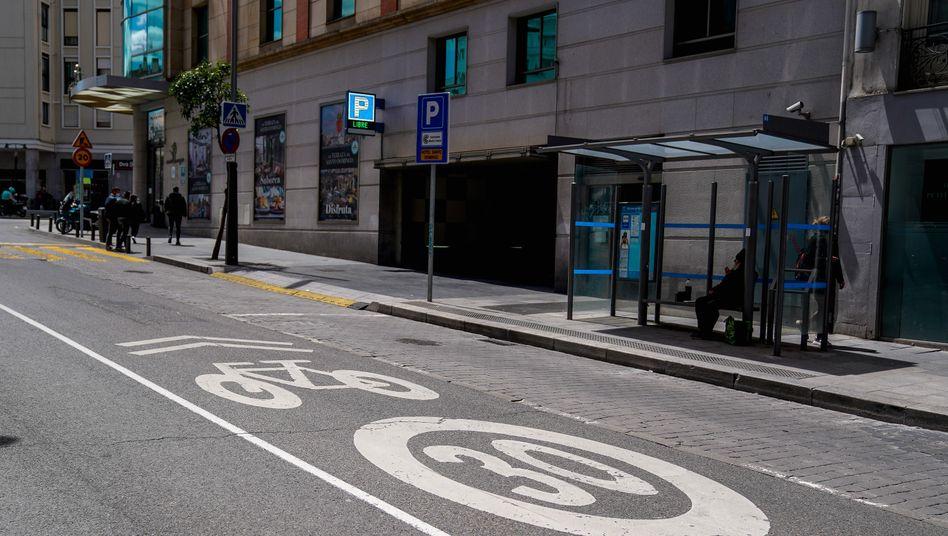 Straße in Madrid: »Die Geschwindigkeit bis jetzt war wirklich ein Unsinn«