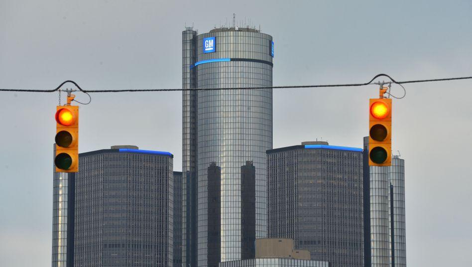 Die Firmenzentrale des Autokonzerns General Motors