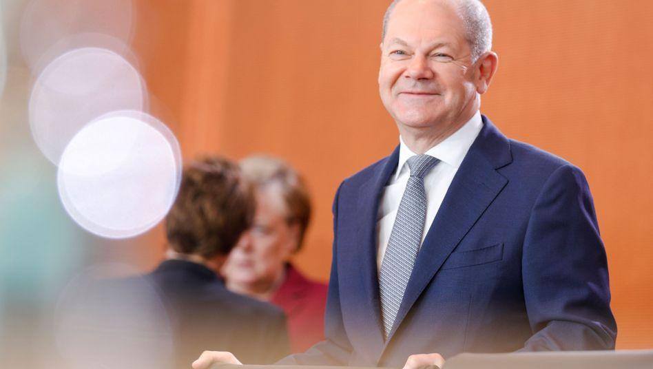 Olaf Scholz: Derzeit nicht als Chefvolkswirt unterwegs - sondern als Kandidat für den SPD-Vorsitz